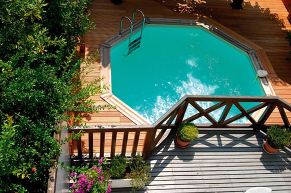 photo piscine luxe